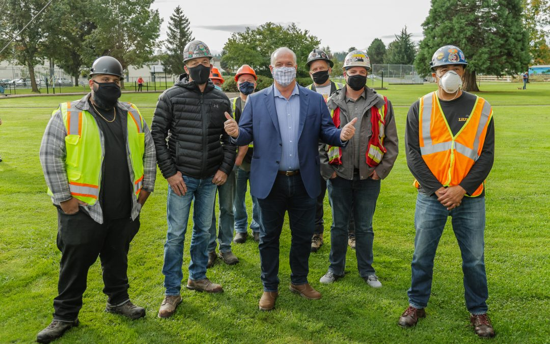 NDP's re-election is a victory for construction workers